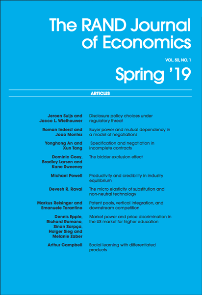Spring 2019 Cover