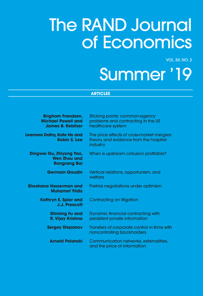 Summer 2019 Cover